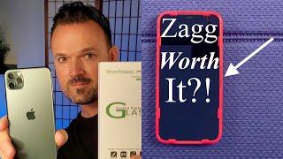 11 Pro Max Nearly Perfect Screen Protector: Zagg Invisible Shield? Pt. 2