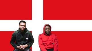 FIRST REACTION TO DANISH RAP HIP HOP!! 😱🔥 (molo, Kesi, Benny Jamz, Gilli & Mellemfingamuzik)