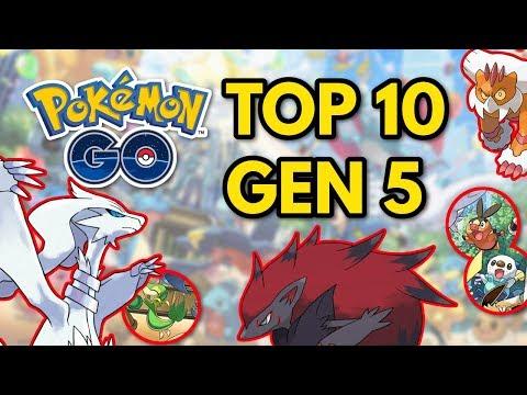 Top 10 Gen 5 Pokemon | Pokemon GO