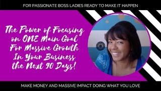 How to Double or Triple Your Biz Growth In the Next 90 Days