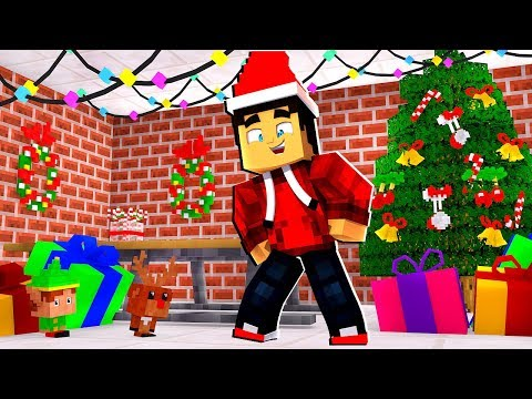 ITS CHRISTMAS in Camp Minecraft!