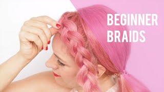 Beginners Braids - Easy Dutch Braid Tutorial - Hair Romance