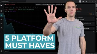 "Top 5 Trading Platform ""Must Haves"" (Day Trading For Beginners)"