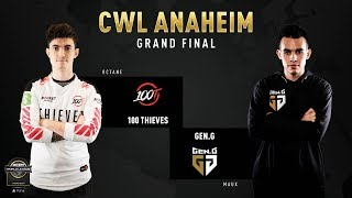100 Thieves vs Gen.G | CWL Anaheim 2019 | Grand Final