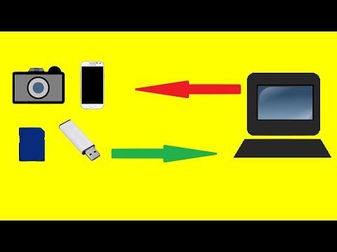 Bilder vom Handy / Kamera / USB Stick auf PC übertragen - Fotos auf Laptop Daten kopieren Smartphone