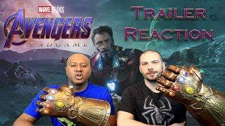 Marvel Studios' Avengers: Endgame - Official Trailer REACTION!!!!