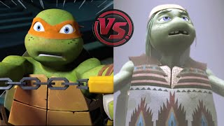 Who Are You, Old Man? - Michelangelo: Past And Future   Teenage Mutant Ninja Turtles Legends
