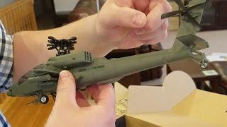 Horizon Hobby - AH-64 Apache - Unboxing and Setup