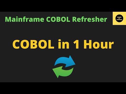 Complete COBOL Refresher in 1 Hour #COBOL