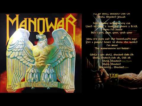 Manowar - Shell Shock - Lyric Video
