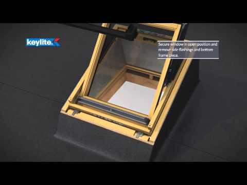 Keylite Flat Roof System Installation (FRS)