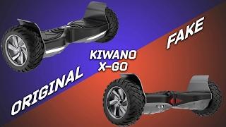 KIWANO X-GO, КАК ОТЛИЧИТЬ ОРИГИНАЛ ОТ ПОДДЕЛКИ (KIWANO KO-X)