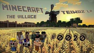 preview picture of video 'Minecraft 1.8 The Village [HD+] #0020 Dunkle Bruderschaft INC!'