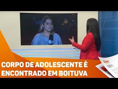 Corpo de Adolescente é  encontrado em Boituva - TV SOROCABA/SBT