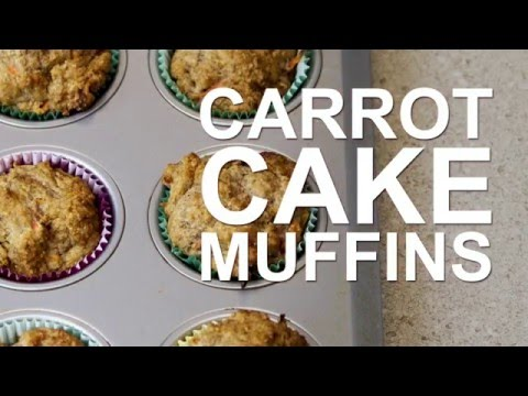 Video How to Make Carrot Cake Muffins | Get Healthy U Recipes