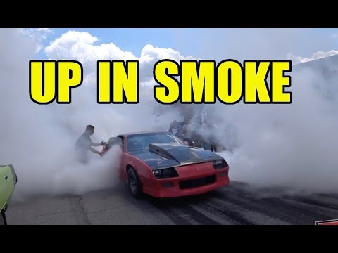 Nick's Garage Goes Up In Smoke - BBQ Burnout Party