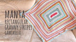 Tutorial Manta Muy Fácil Y Rápida Ganchillo | Crochet