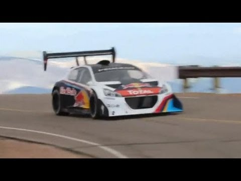 Raw Footage Of WRC Champion Sebastien Loeb At Pikes Peak