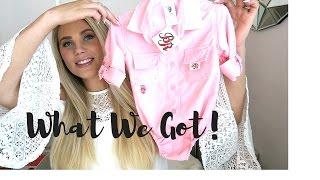 WHAT WE GOT AT OUR BABY SHOWER! | BABY SHOWER GIFT IDEAS!