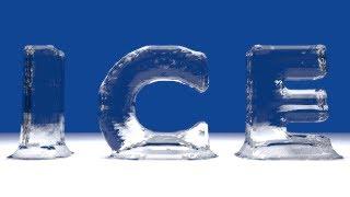 Blender Tutorial For Beginners: Ice text
