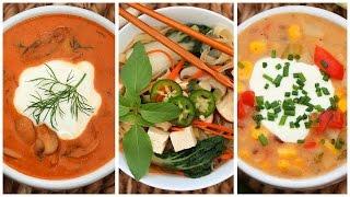 3 Delicious Soup Recipes