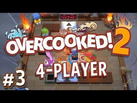 Gameplay de Overcooked 2