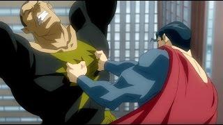 Черный Адам против Супермена