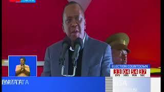 Rais Uhuru Kenyatta akutana na watu kutoka jamii ya Abagusi huko Nakuru