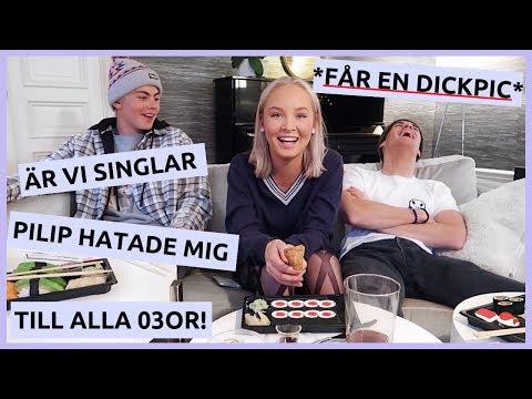 GYMNASIESNACK & *BEEF* mm... | mukbang ft. intervjusällskapet