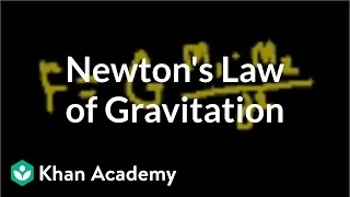 Introduction to Newton's Law of Gravitation