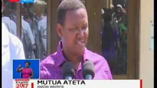 Alfred Mutua adai wapinzani wake  wahusika kwenye uongezeko kwa taka jijini Machakos