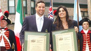 Patrick Rafter, Gabriela Sabatini, International Tennis Hall of Fame Induction, 2006