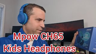 Mpow CH6S Kids Headphones with Microphone