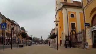 preview picture of video 'Balassagyarmat harangszóval (Mobius HD actioncam)'