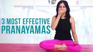 3 Most Effective Pranayamas - Deep Breathing Exercises - Download this Video in MP3, M4A, WEBM, MP4, 3GP