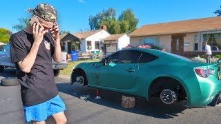 someone STOLE my $5,000 wheels... (WTF)