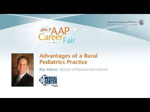 Video Advantages of a Rural Pediatrics Practice