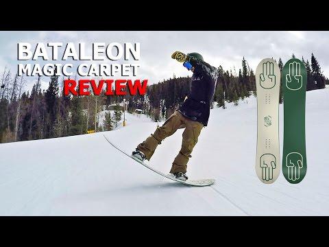 10 Butter Tricks & Bataleon Magic Carpet Snowboard Review