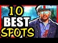 10 BEST TRAINING SPOTS - What's Your FAV? How To Train at Zombies (10 Be...