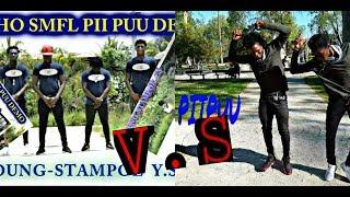 PIIPUU Psycho Battle Lil-Sixi & Lil-Bigi VS Young Stampoe