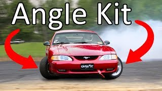 How to Install an Angle Kit (Shopping Cart Angle)