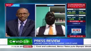 Ambrose Weda\'s thoughts on BBI purge, 8 point stimulus package and re-opening Kenya | Press Review