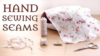 How to Sew a Simple Strong Seam by Hand: A Step-By-Step Beginner's Guide