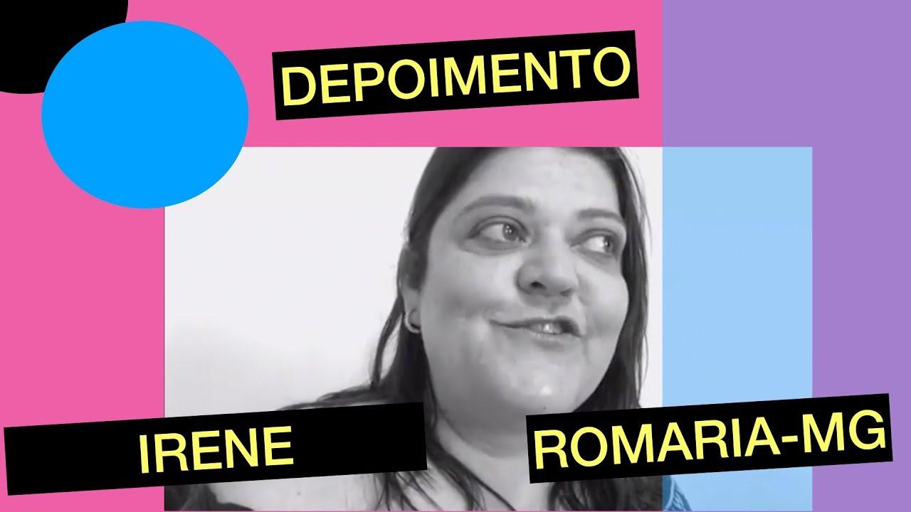 Imagem de slide de DEPOIMENTOS: IRENE ROMARIA -MG