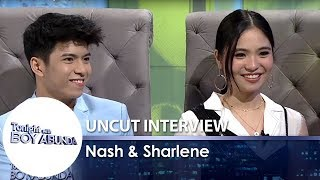 TWBA Uncut Interview: Nash Aguas & Sharlene San Pedro