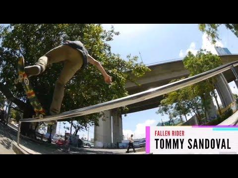 Tommy Sandoval: Fallen x Zumiez