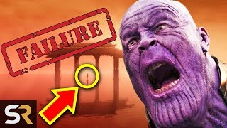 Avengers: Endgame Confirms Thanos Failed His Mission