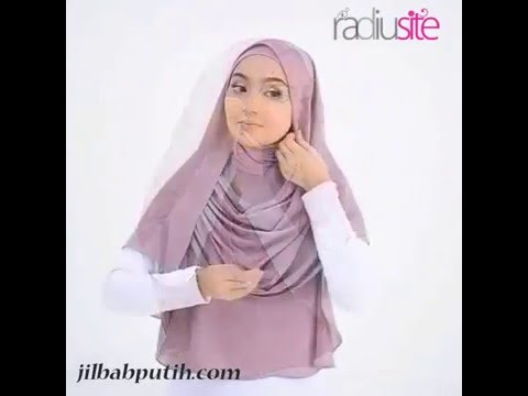 Video Tutorial Hijab Pashmina Syar'i Menutup Dada