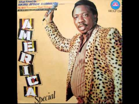 Download Dr Sikiru Ayinde Barrister America Special Track 1 HD Mp4 3GP Video and MP3