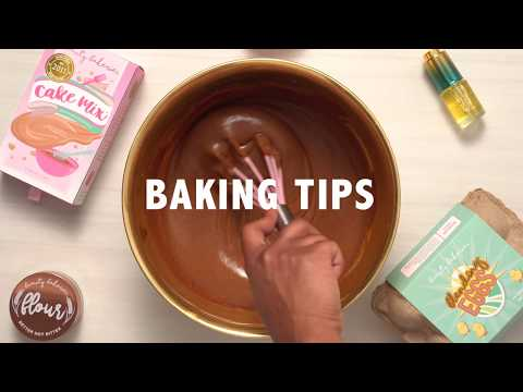 Cake Mix Foundation Baking Tips | How to Get a FLAWLESS Beat | Beauty Bakerie Cosmetics Brand